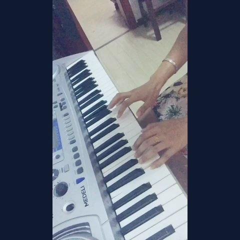 自学电子琴#小星星