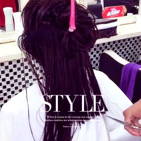 长头发剪短,缔造气质女神第一步!图片