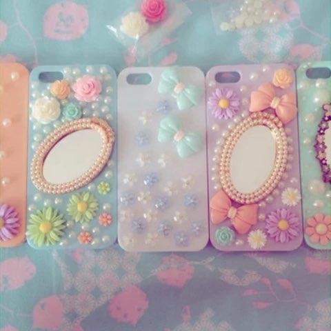 【lily兜兜哒美拍】手工制作手机壳 可根据个人要求.