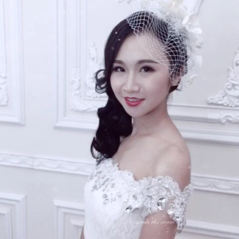作品:欧式复古新娘造型