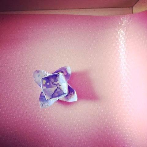 千纸鹤书签#创意折纸##折纸教程