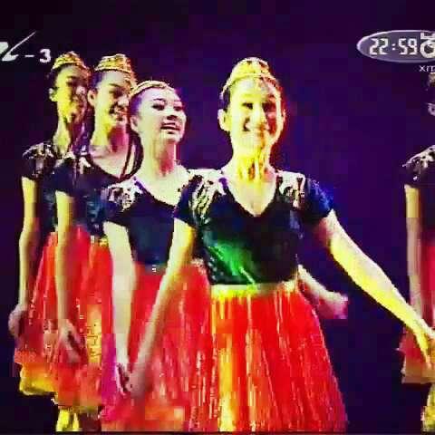 阳光女孩#舞蹈#新疆舞图片