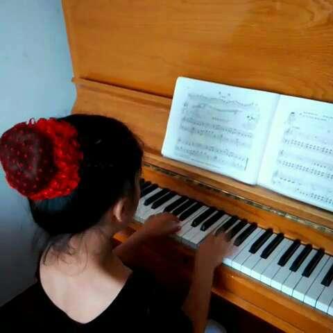 钢琴曲黄水谣的谱子-草堆中的火鸡 钢琴谱