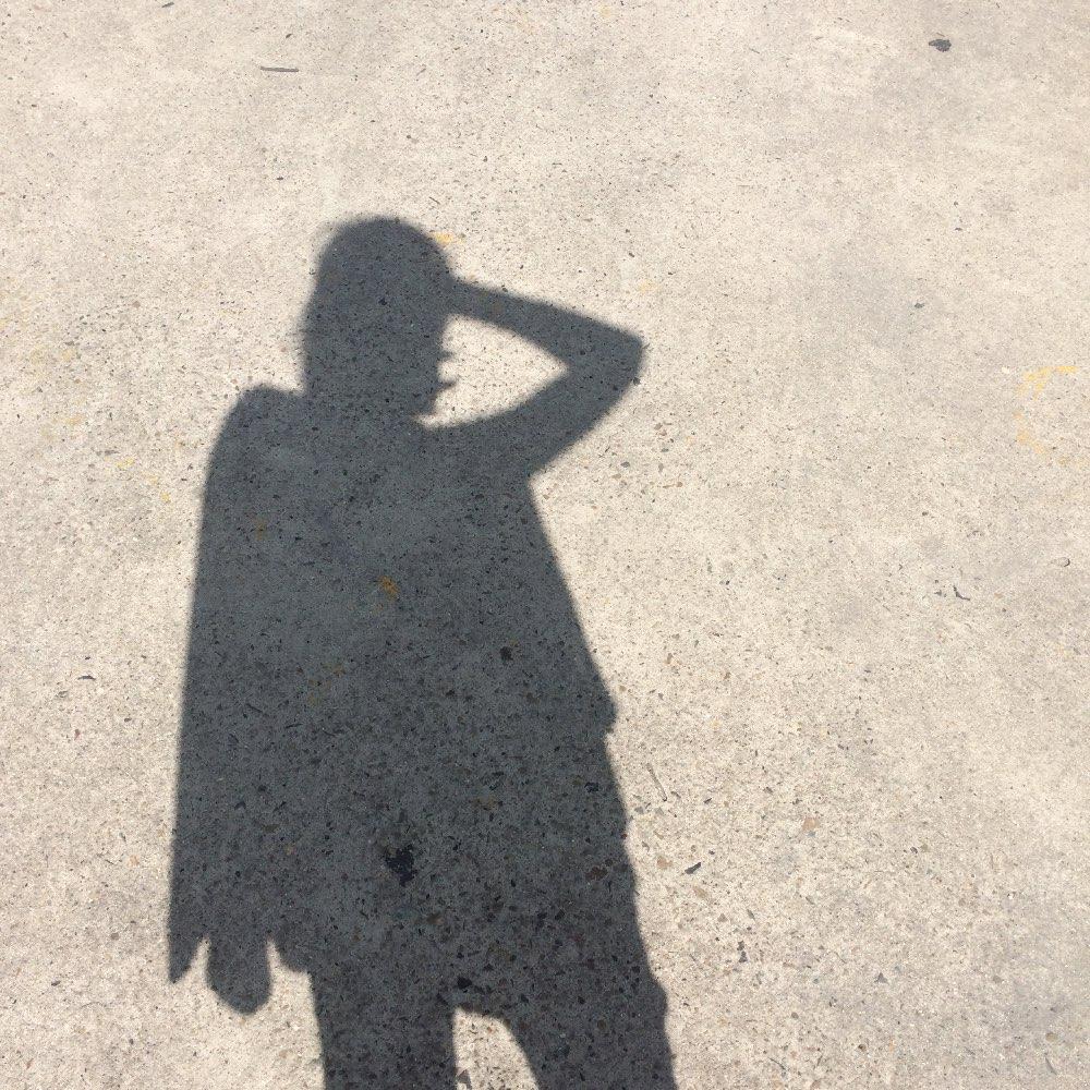 阳光下的影子##影子自拍#lumière de soleil