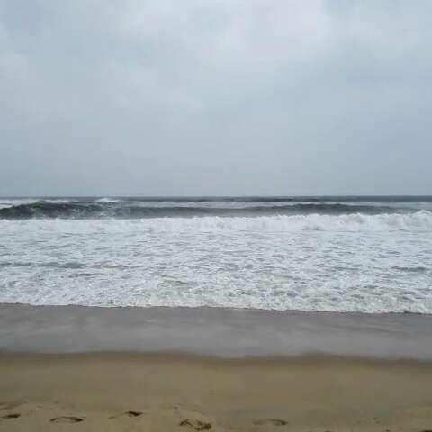 阳江海陵岛,保利银滩,台风快来了!