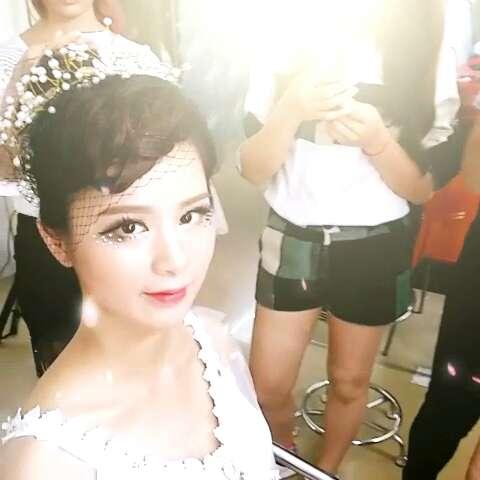 绘美尚彩妆培训:时尚创意新娘造