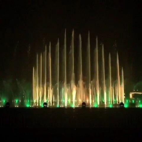 抚顺月牙岛音乐喷泉