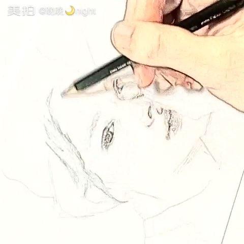 手绘铅笔画