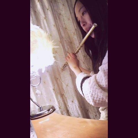 天空之城长笛版:-i没以前有气了#随手美拍##音乐##长笛