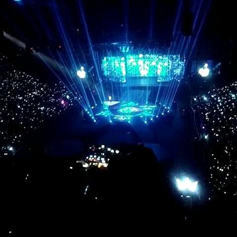 十二月的奇迹##exo广州演唱会#银海还是比较好的.图片