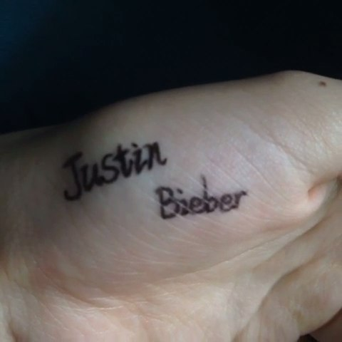 不用纹身 不用贴纸一样能帅的要死#笔画纹身# - 可可!