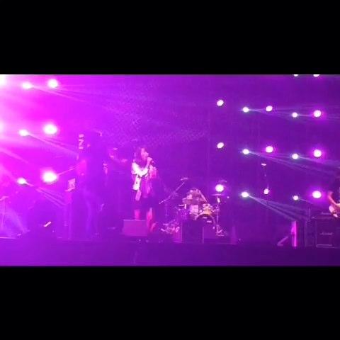 2015重庆龙水湖音乐节谢天笑与冷血动物乐队《把夜晚染黑》