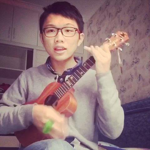 尤克里里##ukulele##童年#下.大爱这段歌词.