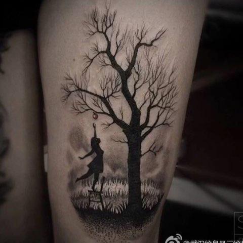 万圣节##音乐##纹身刺青##纹身图案欣赏##三亚纹身