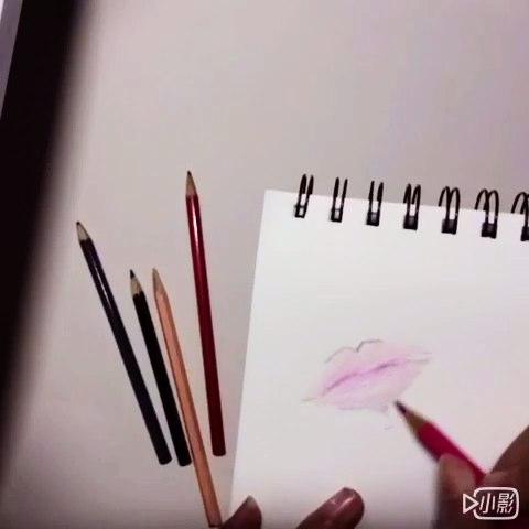 什么要秀自己的#手绘彩铅画##绘画