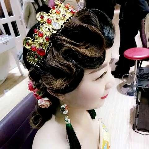 新娘欧式复古帽子图片