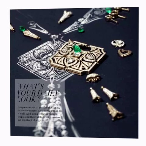 珠宝设计手绘之美,绝对惊艳