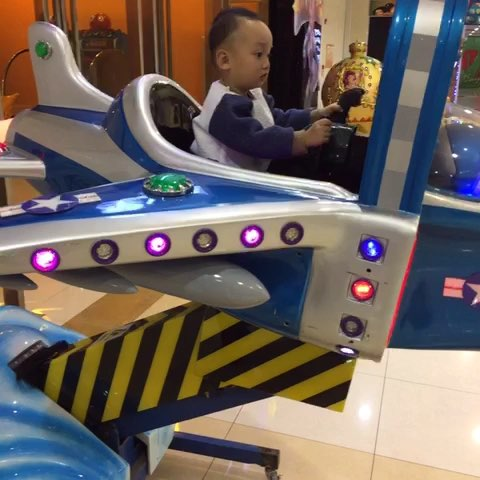 儿子最喜欢的飞机 - 小男男硕宝宝的美拍