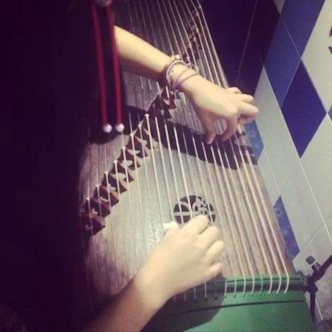 采莲曲 古筝曲谱 4