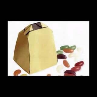 1张纸折礼品袋