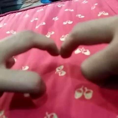 手指摆爱心