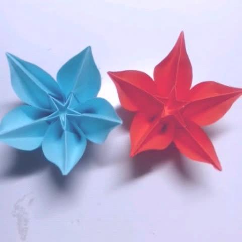 手指小动物折纸