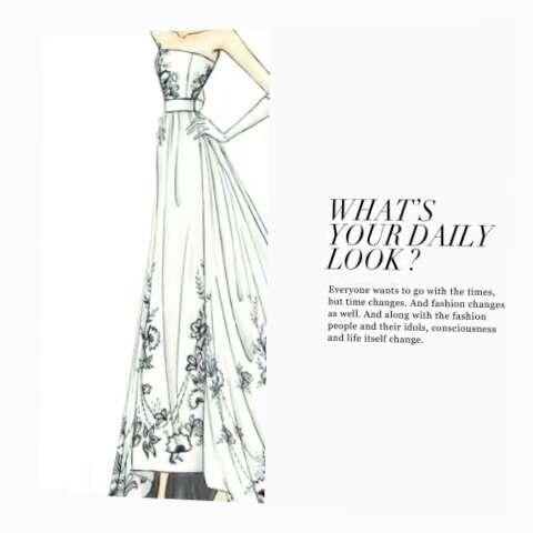 欧美#服装设计师#手绘稿 著名巴黎服装设计师 jane