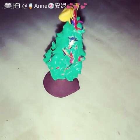 节奏##随手美拍##音乐##圣诞节快乐##圣诞树##超轻粘土制作#@蝴蝶o_o