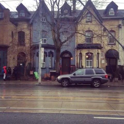 多伦多#街景1,我特别喜欢欧式建筑