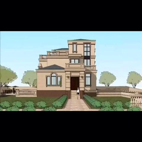 农村别墅自建房设计图展示