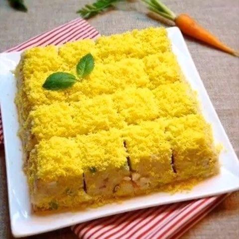 万万没想到,蛋糕一样的土豆沙拉,诱惑到你了么?