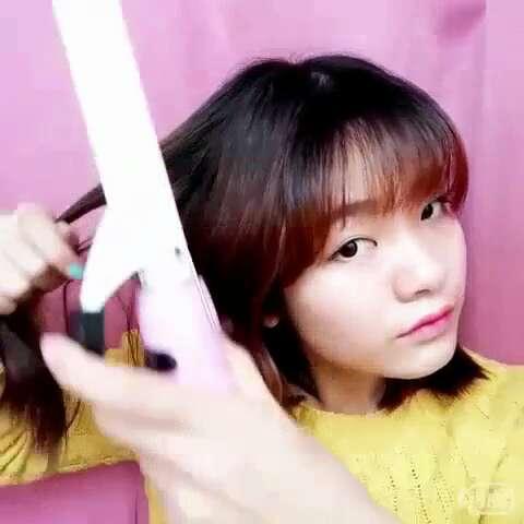 韩式发型##秀卷发##卷发教程##时尚短发卷发#大脸妹云哥的一个卷发秀