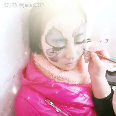彩绘妆面练习