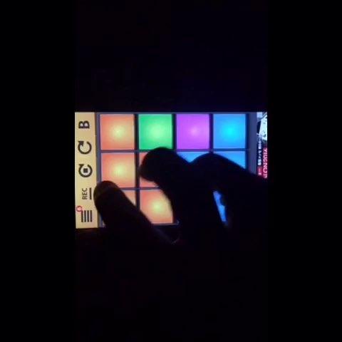 drum pads 24紫色谱子