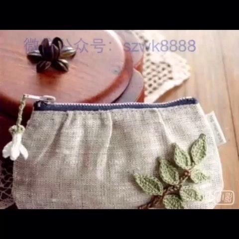 毛线编织##植物花卉##手工diy#唯美的植物编织请