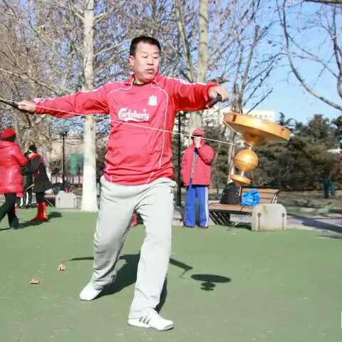 北京市空竹运动协会雕塑公园站竹友大联欢!