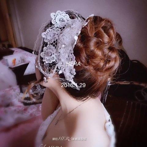 美妆造型##新娘造型##新娘盘发图片