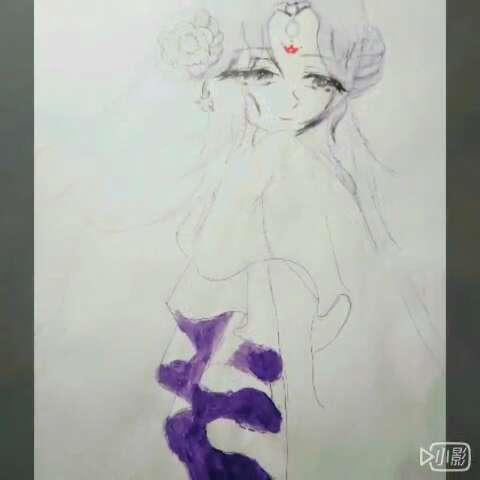 手绘漫画##飒漫画##漫画##画漫画人物##古装美女