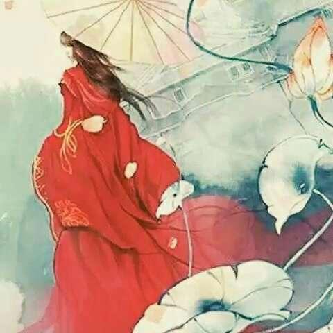 由此可见雨伞是古代美女的装逼神器