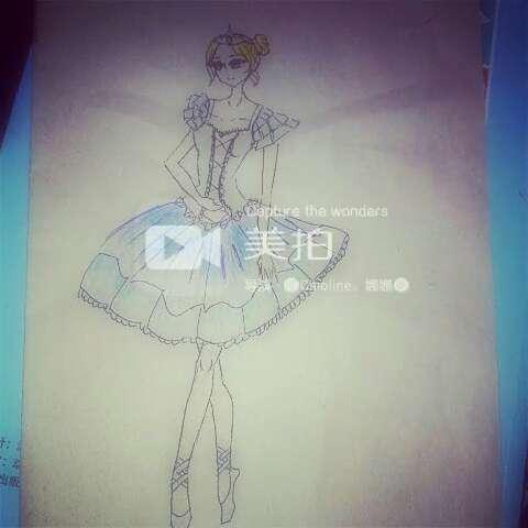 画画##随手画画##手绘##手绘彩铅画##签字笔画##我爱