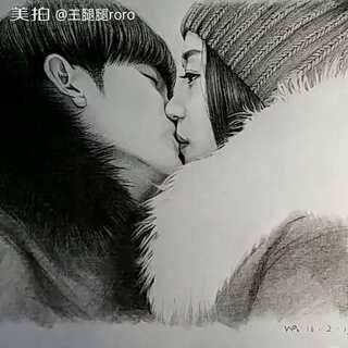 总会做一个悲伤的梦,梦见他很爱我 #手绘##来自星星的你##那些年我们追过的韩剧#明天就是情人节了,希望单着的我们,有一天会遇到真爱吧😑
