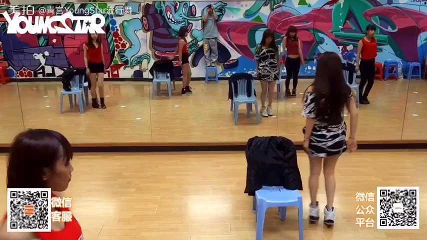 广州青宫Youngstar】-青宫性感超短裙YoungStar流行1舞的图片