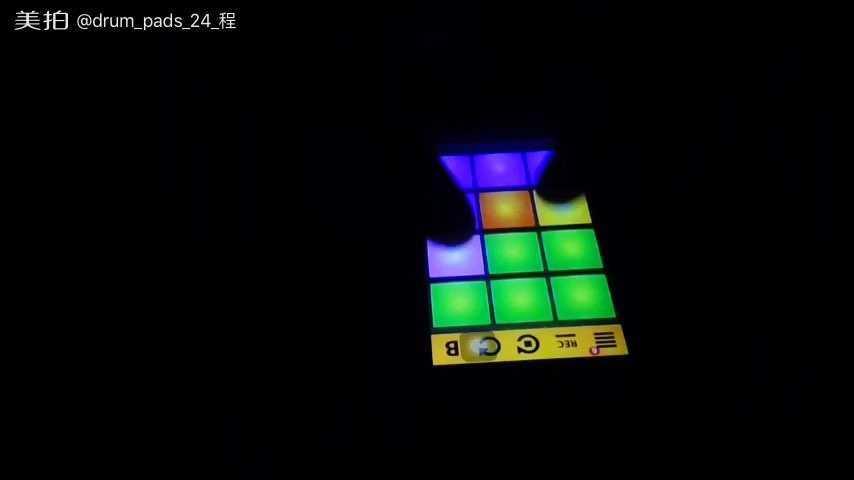 drumpads24紫色谱子歌