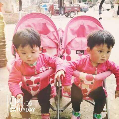 #随手美拍#两个宝宝!1岁4个月 - 双胞胎的日常