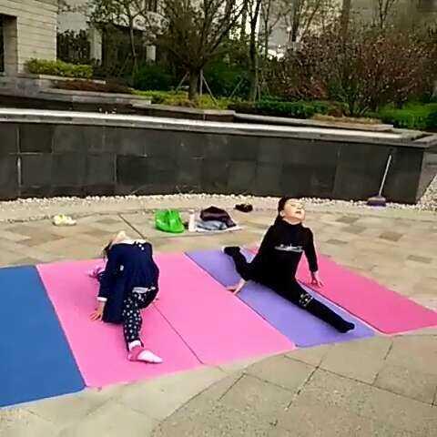 #5分钟美拍##儿童舞蹈基本功##少儿舞蹈形体