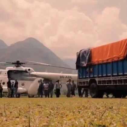 2015年4月25日,尼泊尔发生7.9级地震,造成9000多人遇难,近22000人受伤。联合国人道机构第一时间投入救援。