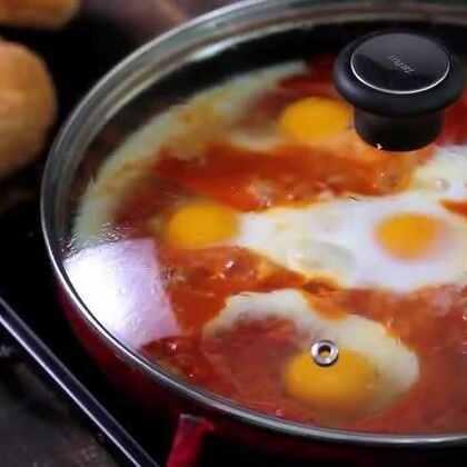 """鸡蛋跟番茄碰撞在一起,不仅颜值高,还是舌尖上的""""欢乐颂""""!😍😍😍#美食##涨姿势##美味##鸡蛋##番茄#"""