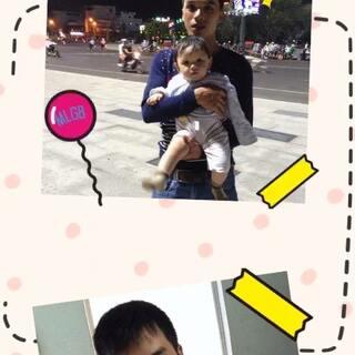 #baby我宣你#chuc hai cha con sinh nhat vui ve, luon manh khoe nha👪22-23/5/2016