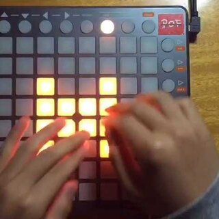 【POF Plays Launchpad】iPhone Remixed by MetroGnome 是不是若干年前网上很火的iPhone铃声 #音乐##launchpad##iphone##edm#