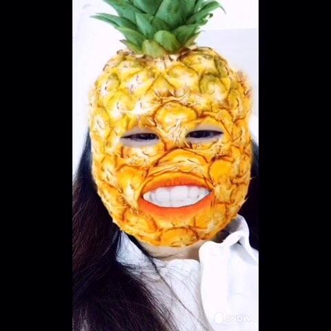 #自拍##菠萝# - 张斯涵_Cathy00的美拍